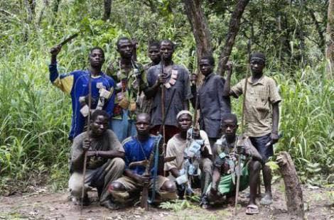 Gruppe von Anti Ballaka