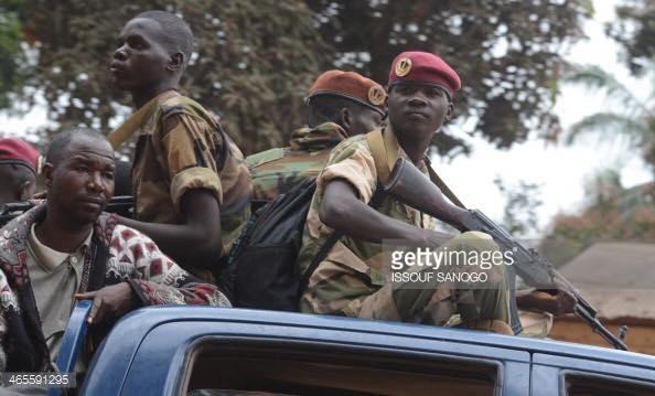 Seleka-Kämpfer