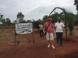 Willkommen auf unseren neuen Projektstation in Sabongo, März 2018